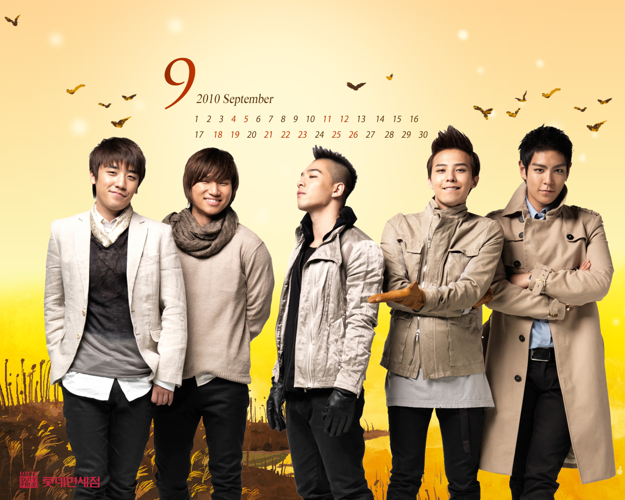 Big Bang Lotte Duty Free Wallpapers!  TaeyangKoreanDream